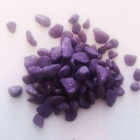 PEBBLES COLOR 10-20 MM BAG 1 KG  PURPLE
