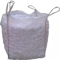 PEBBLES WHITE THASOS BIGBAG 1500 KG  DIMENSIONS  1-3 CM 3-6 CM 6-9 CM 9-13 CM  PEBBLES & STONES NATURAL