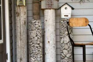 Pedestal pebbles