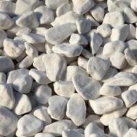 PEBBLES WHITE BIG BAG  1500 KG  DIMENSIONS  1-3 CM  6-9 CM