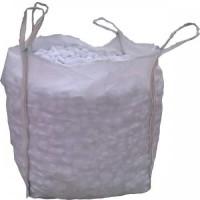 PEBBLES WHITE THASOS BIGBAG 1500 KG  DIMENSIONS  1-3 CM 3-6 CM 6-9 CM 9-13 CM
